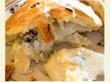 English Stilton and Twice Baked Potato Picnic Pies - Pasties