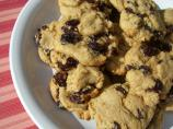 Old-Fashion Rum Raisin Cookies