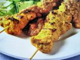 South China Morning Post 1963 - Authentic Chicken Satay Skewers