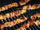 Hoisin-Glazed Pork Kabobs