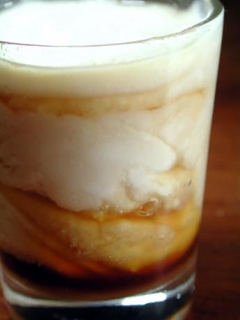 Espresso Marbled Panna Cotta. Photo by Chef floWer