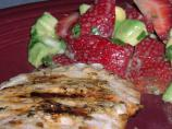 Chipotle Pork With Strawberry-Avocado Salsa