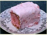 Strawberry Cake With Frosting