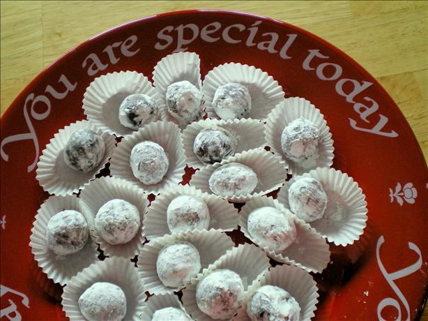 Bailey's Irish Cream Truffles. Photo by Julie B's Hive