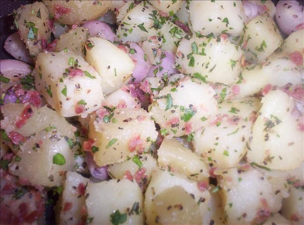 Potatoes a L'alsacienne. Photo by Mims & Squims