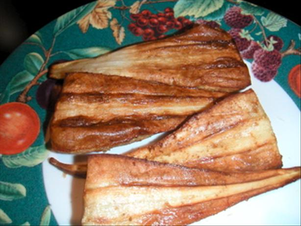 Parsnips With Cumin. Photo by Leggy Peggy