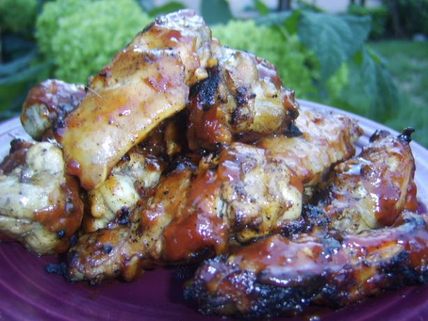 Australian Beer-Barbecued Wings. Photo by LifeIsGood