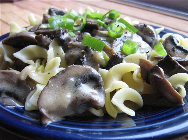 Wild Mushroom Stroganoff. Photo by ~Leslie~