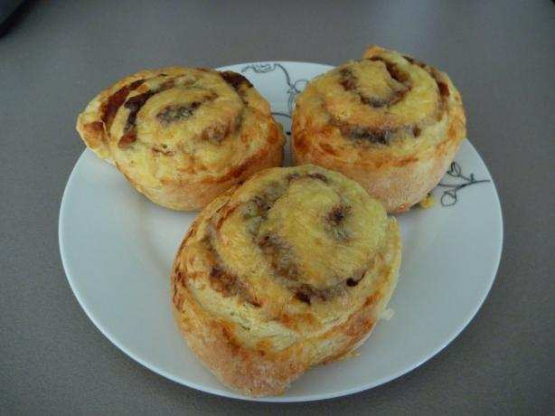 Cheese and Vegemite Scrolls. Photo by Luv2Bake08