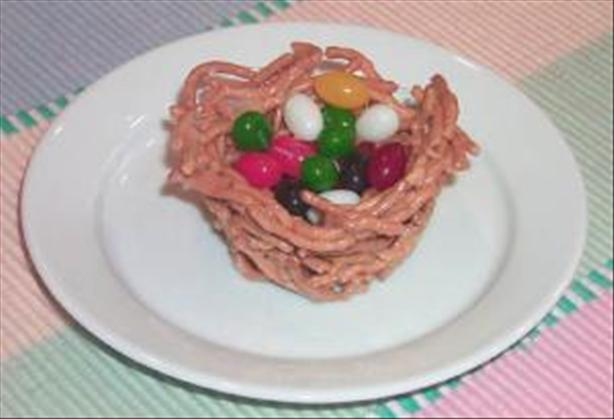 Jelly Beans Nests. Photo by Food.com *