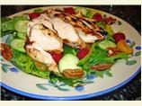 Grilled Raspberry Chicken Salad