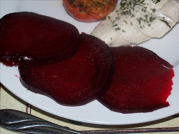 Basic Roasted Beetroot. Photo by **Jubes**