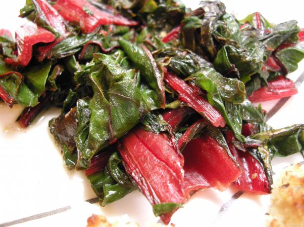 Sauteed Swiss Chard (Don't Be Afraid!!!). Photo by Teddy's Mommy