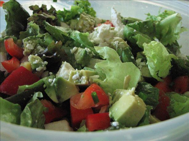 Mexican Salad With Honey Lime Dressing. Photo by Brooke the Cook in WI