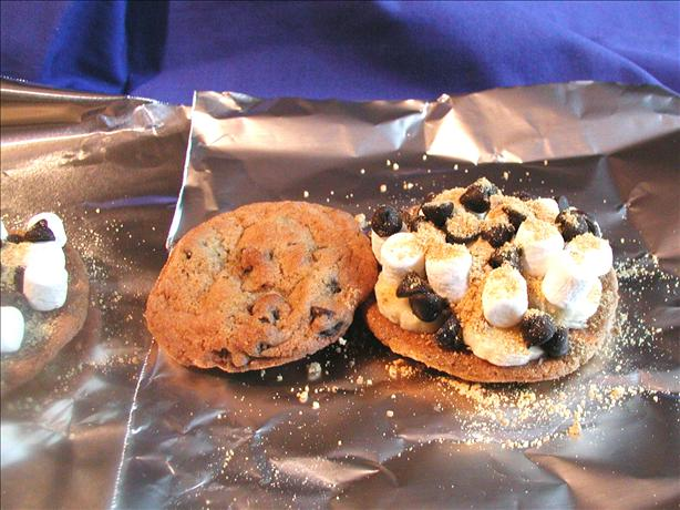 Chocolate Chip Cookie S&#39;mores. Photo by Mimi in Maine
