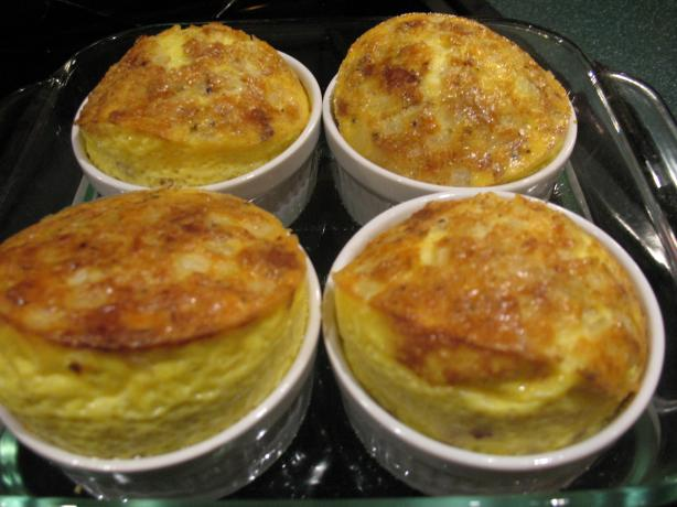No Brainer Cheese and Egg Souffle. Photo by Chicagoland Chef du Jour