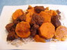 Beef Tagine With Sweet Potatoes. Recipe by pattikay in L.A.