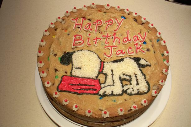Chocolate Chip Cookie Cake. Photo by staceycook