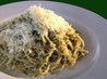 Spaghetti With Green Basil Sauce. Recipe by Tisme