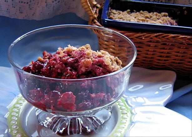 Cherry Berry Crisp. Photo by Annacia