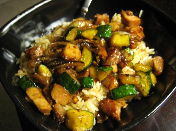 Stir- Fried Zucchini & Onions. Photo by cali_love