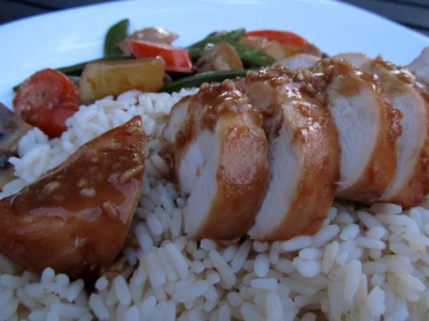 Chicken Teriyaki. Photo by K9 Owned
