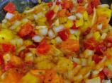 Exotic Ya' Make a Jamaica Jerk Shrimp With Mango Papaya Salsa