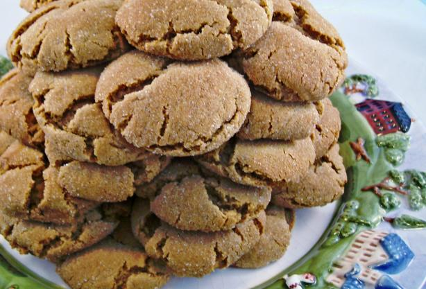 Gingersnaps (Soft & Chewy). Photo by Crafty Lady 13