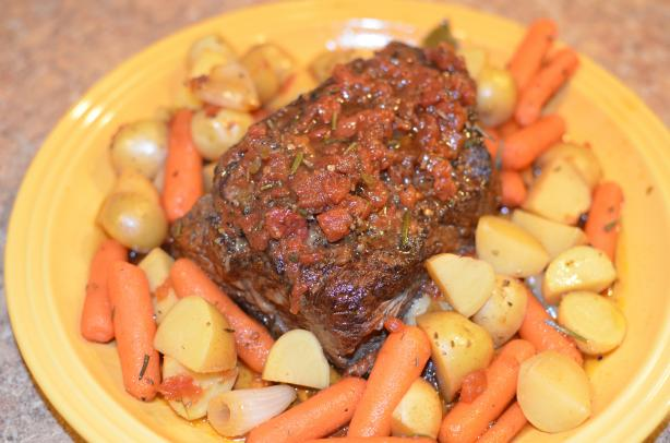 Balsamic Pot Roast (Crock Pot). Photo by sally.tilley