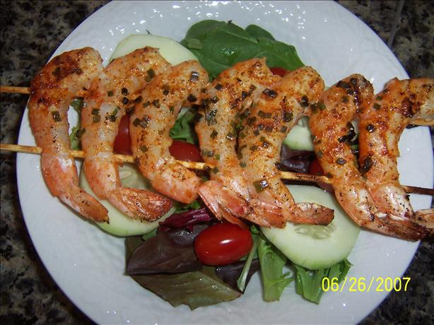 Mexican Prawn (Shrimp) Kebabs. Photo by Mommy Diva