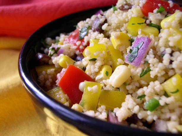 Spicy Mexican Couscous Salad. Photo by Bayhill