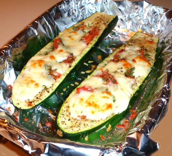 Stuffed Zucchini. Photo by Bergy