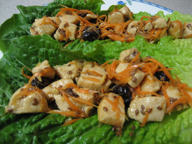 Cherry Chicken Lettuce Wraps. Photo by Maggie, Cooking