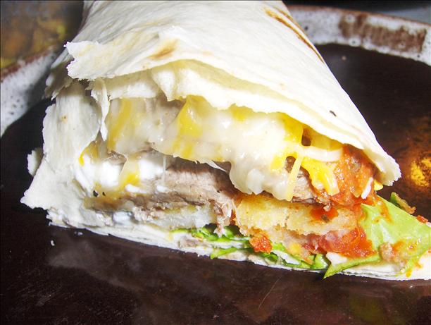 California Burrito. Photo by Mulligan