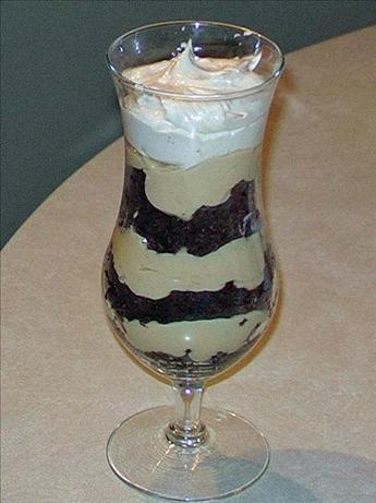 Sweetslady&#39;s Chocolate Peanut Butter Brownie Trifle. Photo by Caryn Dalton