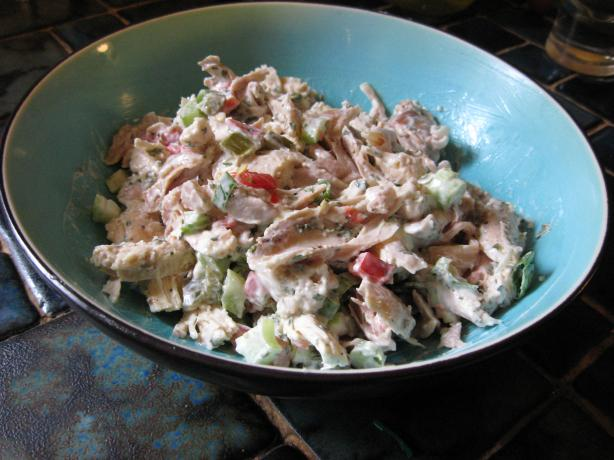 Jalapeno Chicken Salad. Photo by breezermom