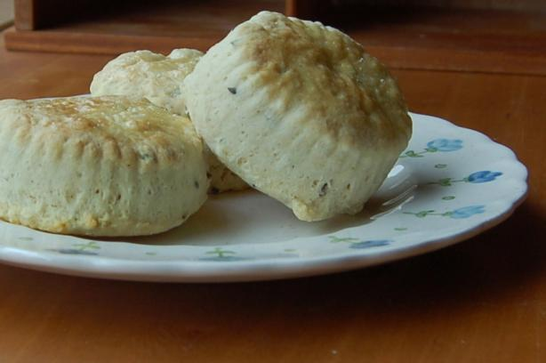 Old Fashioned English Lavender Tea Scones. Photo by wood stove stoker