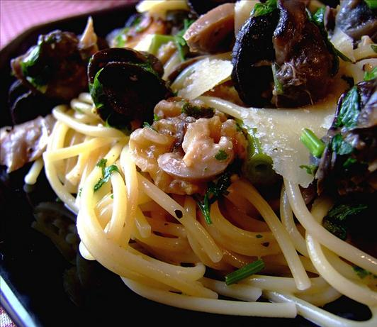 Burgundian Escargots With Spaghetti. Photo by Zurie
