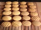 Custard Powder Biscuits (Cookies)