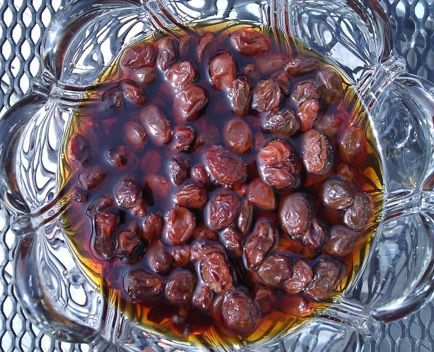 Gin-Soaked Raisins (Purported Arthritis Remedy). Photo by mersaydees