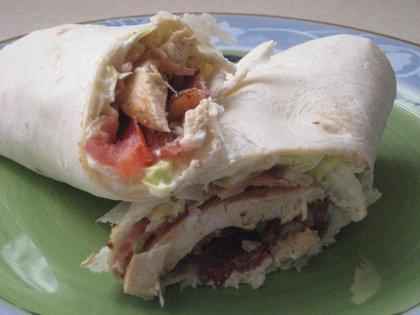 Chicken BLT Wrapwich. Photo by DeeVaFoodie