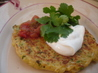 Zucchini Shirataki Pancakes. Recipe by Chef #208121