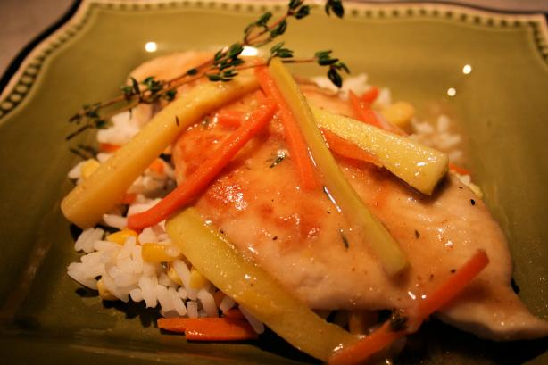 Chicken Vegetable Francese. Photo by **Tinkerbell**