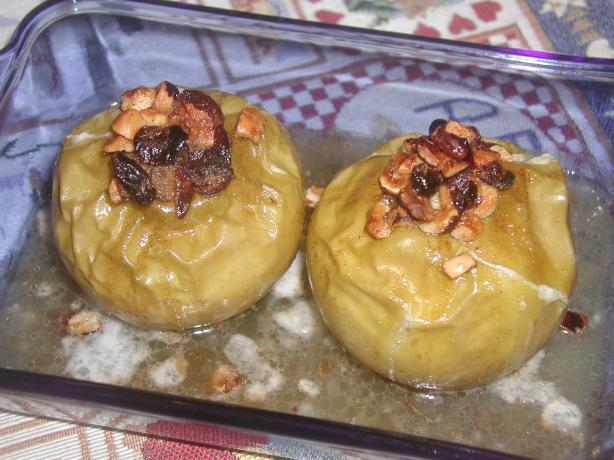 Baked Apples (With Chopped Hazelnuts). Photo by mailbelle