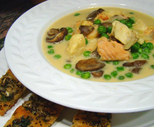 Curried Seafood Chowder. Photo by Derf
