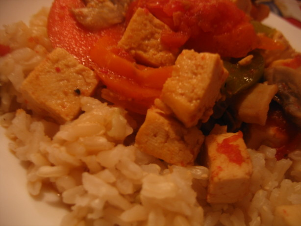 Tofu and Vegetable Stir Fry (Ww Core). Photo by White Rose Child