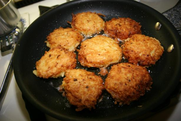 Old-fashion Potato Pancakes. Photo by Ted David