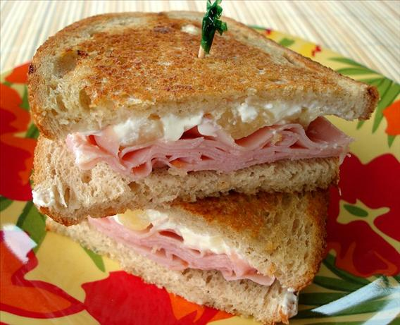 Island-Inspired Grilled Ham Sandwich. Photo by Marg (CaymanDesigns)