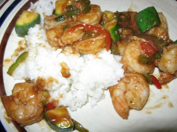 Kung Pao Chicken, Shrimp or Beef  (Panda Express - Style). Photo by Papa D 1946-2012