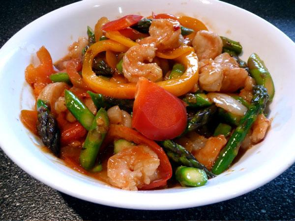 Ww Hunan Shrimp - 5 Points. Photo by Mikekey
